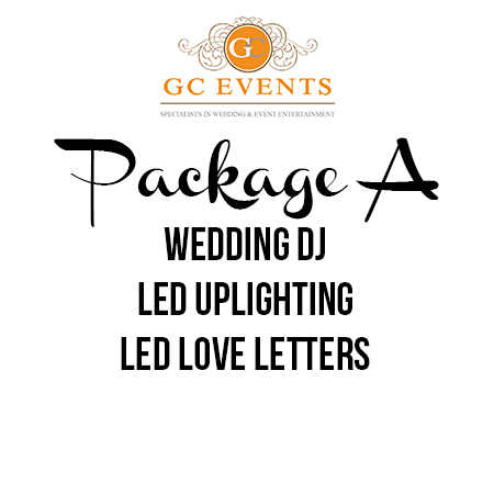 GC Events Wedding Entertainment Package A