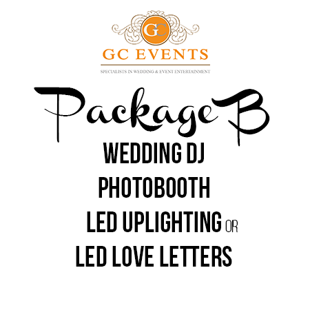 GC Events Wedding Entertainment Package B