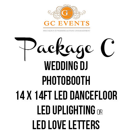 GC Events Wedding Entertainment Package C