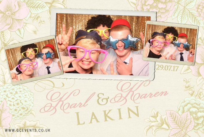 Photo Booth fun from GC Events UK Derby